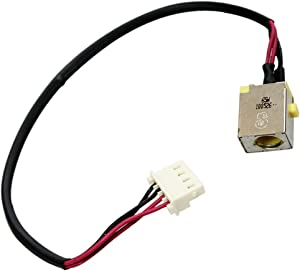 MMOBIEL DC Power Jack Dock Connector Flex Cable Replacement Compatible with Acer Aspire E5-522 E5-532 E5-553 E5-573 E5-575 V3-574 F5-573 E5-774 Series