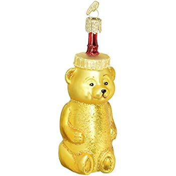 Old World Christmas Honey Bear Glass Blown Ornament - Amazon.com: Old World Christmas Peanut Glass Blown Ornament: Home