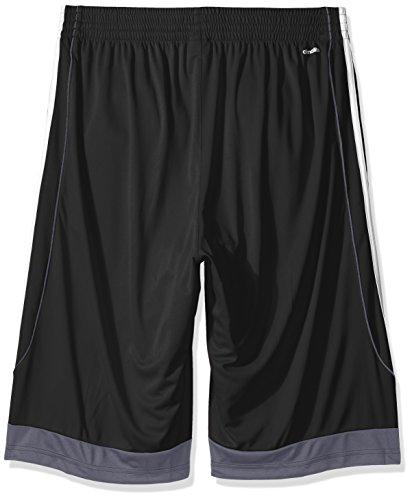 adidas Men's 3G Speed Big & Tall Shorts, BlackWhite, LargeTall