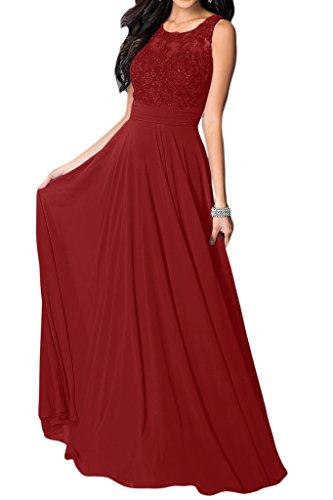 trapecio Borgoña Missdressy Vestido para mujer xqYBwX5wf