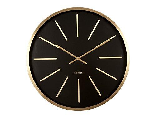Karlsson Maxiemus Wall Clock, Black