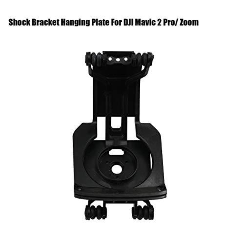 Sodoop Shock Bracket for DJI Mavic 2 Pro/Zoom, Gimbal Damping Mount Board Parts Shock Bracket Hanging Plate Compatible for DJI Mavic 2 Pro and DJI Mavic 2 Zoom,Black,1080p HD Video Recording
