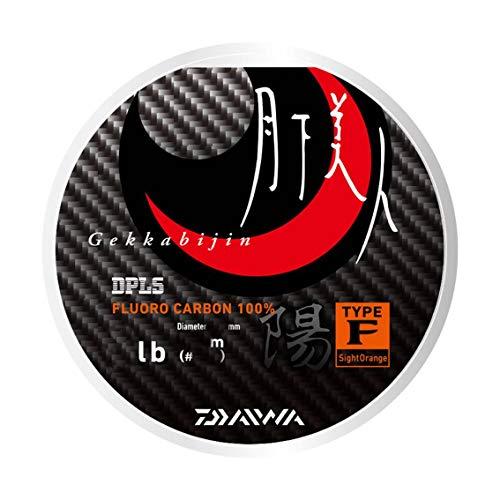 ダイワ(DAIWA) ライン 月下美人 TYPE-F 陽 150m 1.5lb (0.4号) サイトオレンジの商品画像
