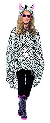 Zebra Party Poncho -