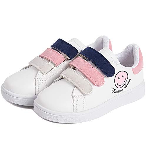 Pictures of Deesha Kids' Runner Sneaker (11M Pink) Pink 11 M US 7