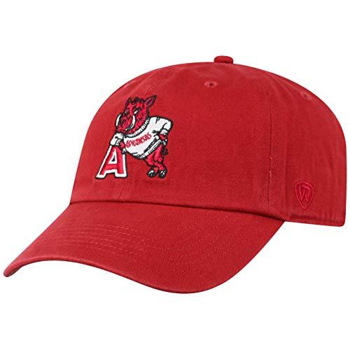 NCAA Arkansas Razorbacks Men's Adjustable Vault Team Hat, Cardinal
