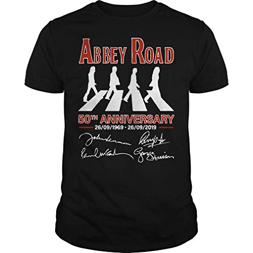 The Beatles Abbey Road 50th Anniversary Signatures Shirt For Men, Women, Young, Hoodie, Sweatshirt