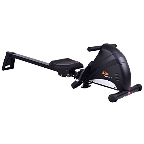 Magnetic Folding Rowing Machine w/ LCD Monitor by Apontus