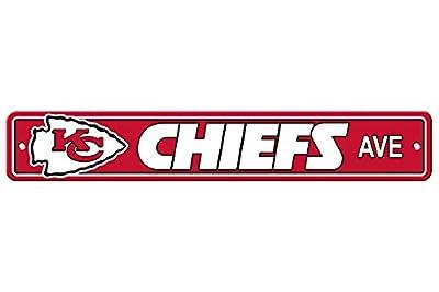 "New NFL Football Team Official Logo Street Sign 4"" X 24"" - All Teams Available"