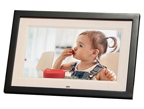 Skylight Frame 10 inch Wireless Digital Picture Frame, Email Photos From Anywhere, Touch Screen Display