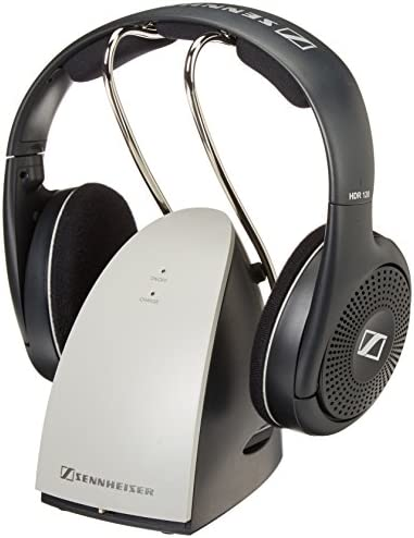 Sennheiser RS120 OnEar Wireless RF Headphones with Charging Cradle