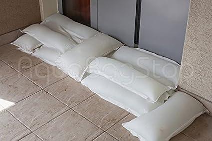 Barrera de agua: protecci/ón contra inundaciones| Saco /único autoabsorbente sin trabajo barrera| protecci/ón instant/ánea contra inundaciones AquaBagStop ecol/ógico Protecci/ón contra inundaciones