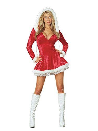 Sexy Santas Sleigh Belle Christmas Costume Adult L (Sleigh Belle Sexy Costume)