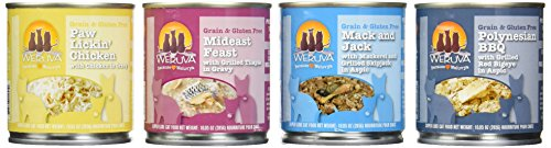 Weruva Grain-Free / Gluten Free Cat Food Variety Box - 4 Fla