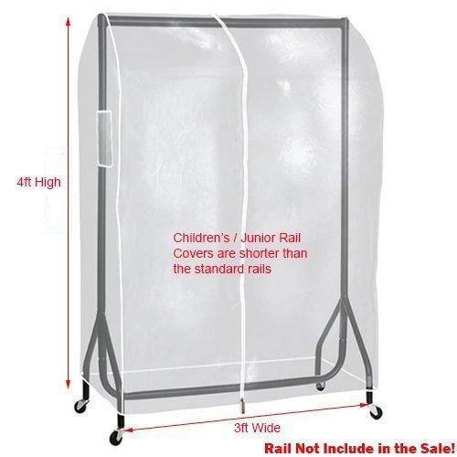 2 m 3 m 4 m 5 ft 6 ft Claro Transparente Perchero con ...
