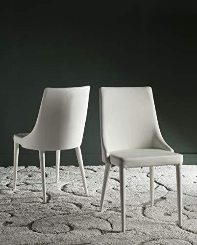 Safavieh Home Collection Summerset White Side Chair (Set of ()