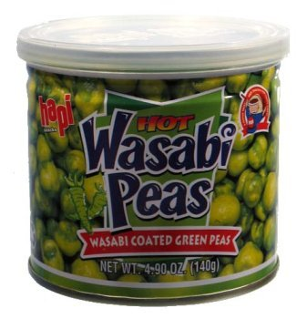 Hapi Hot Wasabi Peas (Hapi Wasabi Hot Green Pea, 4.9 Ounce)