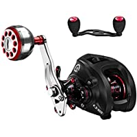 DONVI Baitcasting Reels with Dual Brake System - 6.3:1...