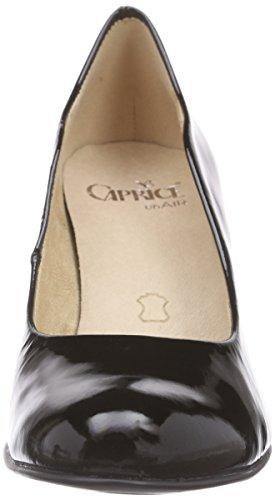Nero Donna Scarpe black Caprice 22406 Col nero 018 Tacco Patent qFIXa