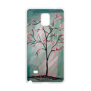 Unique pink tree Cell Phone Case for Samsung Galaxy Note4
