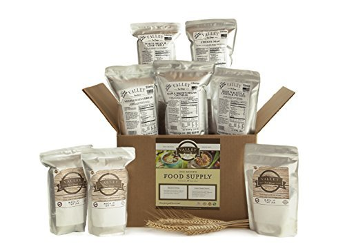 1 Month Value Long Term Pantry Supply of Freeze Dried Survival Food Kit for Emergency Preparedness - Valley Food Storage by Valley Food Storage by Valley Food Storage
