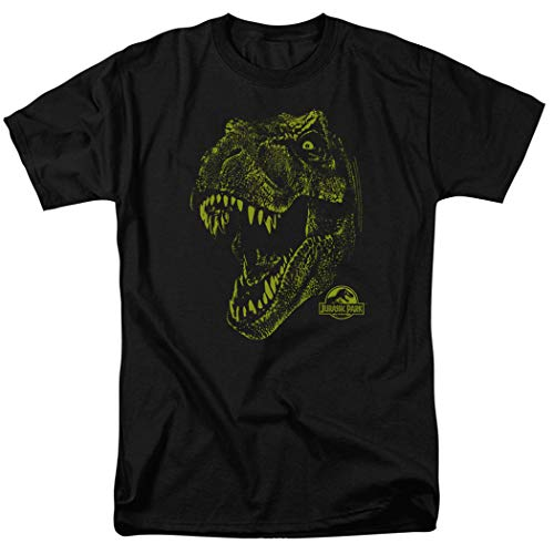 Popfunk Jurassic Park Tyrannosaurus Rex T Shirt (Medium) Black