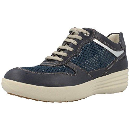 Calzado deportivo para mujer, color Azul , marca STONEFLY, modelo Calzado Deportivo Para Mujer STONEFLY ROMY 4 de Piel