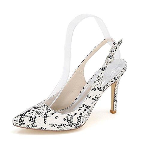 L@YC Frauen High Heels Spitz Herbst Winter abend Hochzeit / Party & Schuhe Weitere verfügbare Farben Weiß