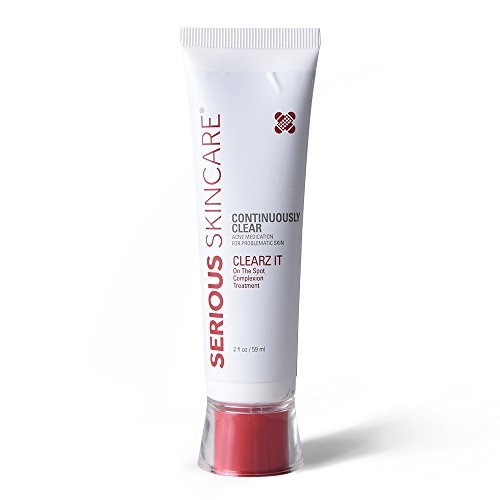 Serious Skincare Clears It On-The-Spot Complexion Treatment, 2 Ounce (Best Skin Care Products For Clear Skin)