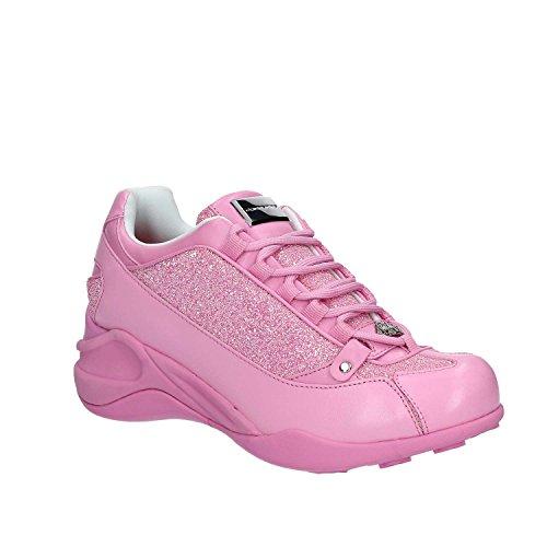 colore collezione FORNARINA rosa estate 2017 Rosa PE17SE8922V062 nuova Sneaker primavera EwwqZxa6UO