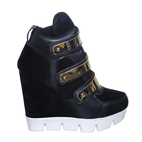 Shoewhatever Nytt! Pl Hi-top Kile Laceup Joggesko Blksu