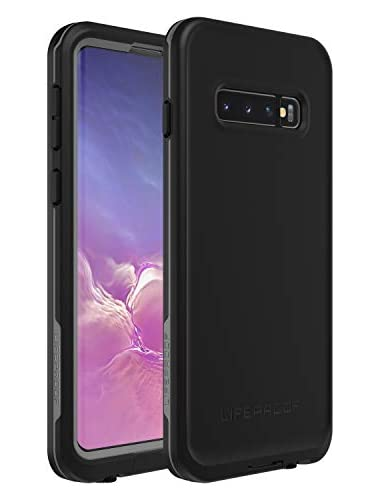 Galaxy S10  LifeProof Fre  LIVE 360    Fully-enclosed  4-Proof case for Samsung Galaxy S10  77-61395  Asphalt  Black