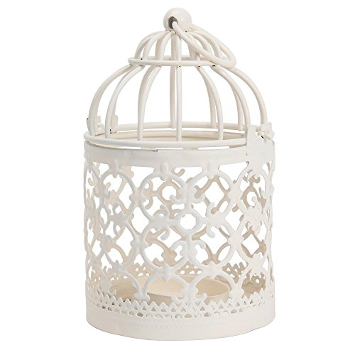 niceEshop Metal Votive Candle Holder Hanging Lantern Home Ce