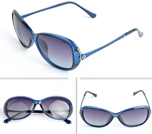 Para De Mujer Sol Azul Gafas Polarizadas wURxgZa0