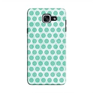 Cover It Up - Blue Polka Galaxy J7 Prime Hard Case