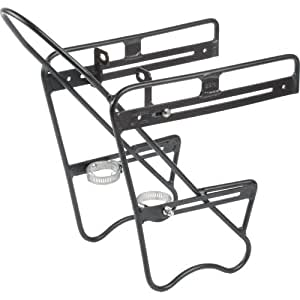 Zefal Raider - Porta bulto delantero, color aluminio/negro