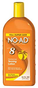 NO-AD: Sunscreen Lotion SPF 8, 16 oz