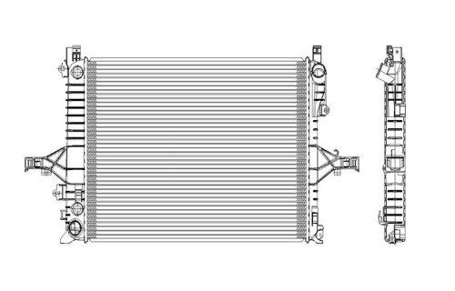 volvo s 80 radiator - 1