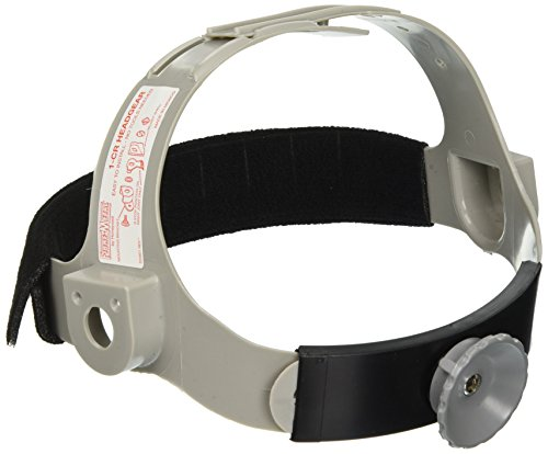Suspension Headgear - Fibre-Metal 280-E2RW09A000 SuperEight Hard Caps, 8 Point Ratchet, One Size, Gray