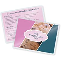 TruLam 7 Mil Recipe Card Laminating Pouches 3-3/16 x 4-3/8 Inches, 500 per Box (LP07REC)