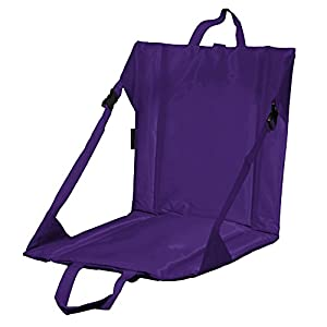 Logo Stadium Seat, Purple from Logo Brands