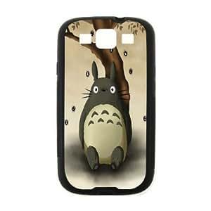 My Neighbor Totoro Custom Case for SamSung Galaxy S3 I9300 (Laser Technology)