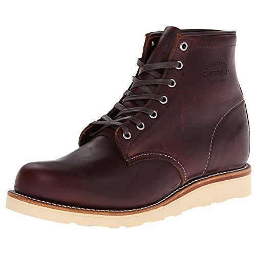 Original Chippewa Collection Men's 1901M16 6 Inch Plain Toe Boot, Cordovan, 10 D US