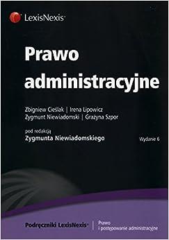 Book Prawo administracyjne