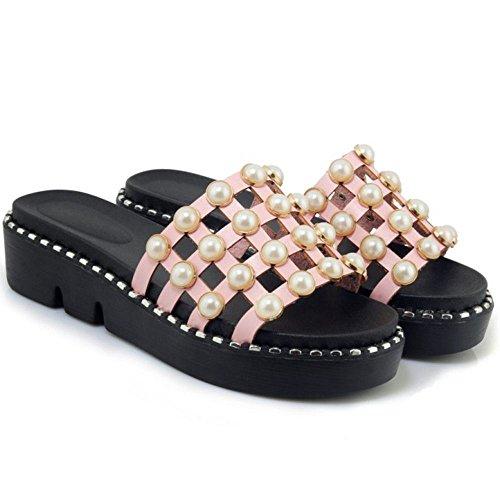 Zanpa Sandli Dolce Flatform 2 Pink 2 Donna Way tqr8t