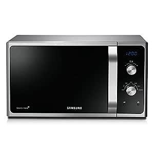 Samsung MS28F301TFS - Microondas (15 kg, 336 x 349 x 241 mm, 512 x 411 x 297 mm) Plata