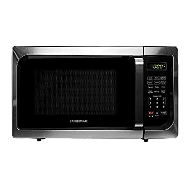 Farberware FMO09AHTBKC Classic 900W Microwave Oven, 0.9 cu. ft., Stainless Steel