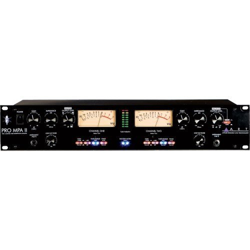 ART ProMPAII Two Channel Discrete Class A Microphone Preamp Two Channel Microphone Preamp