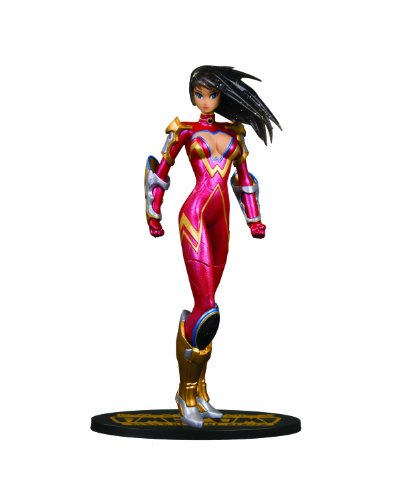 (DC Direct Ame-Comi Heroine Series: Donna Troy as Wonder Girl Variant PVC Figure)