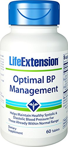 Life Extension Optimal BP Management, 60 - Life Extract Extension Seed Grape